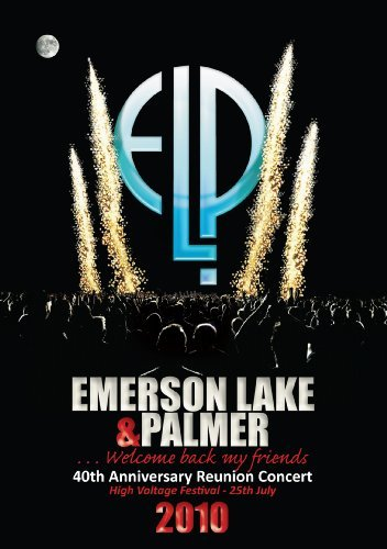 Emerson Lake & Palmer 40th Anniversary Reunion Concert Blu Ray Nr