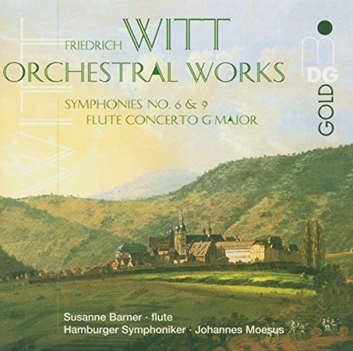 F. Witt Orchestral Works Barner (fl) Moesushamburger So