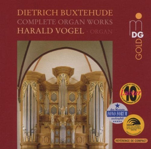 D. Buxtehude Complete Organ Works Harald Vogel 7 CD