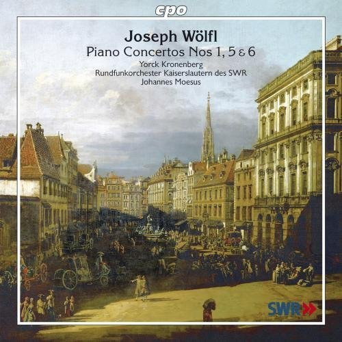 J. Wolfl Piano Cons 1 5 6 Moesus Swr Rundfunkorchester K