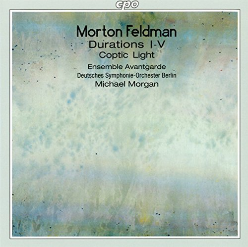 M. Feldman Coptic Light Durations Morgan Deutsches So