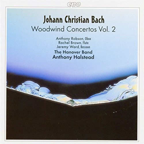 Johann Sebastian Bach Con Wind Vol. 2 Robson Brown Ward Halstead Hanover Band