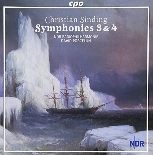 C. Sinding Sym3 4 Rhap For Orch Frost & S Ndr Phil