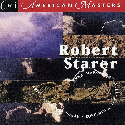 Robert Starer Music Of Robert Starer Orbach (cl) Allen (hp) Various