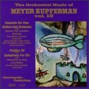 M. Kupferman Orchestral Music Vol. 10 Various