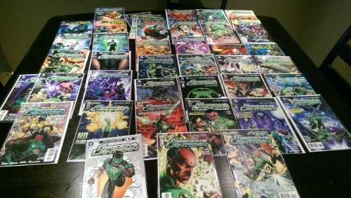 Comic Book Green Lantern