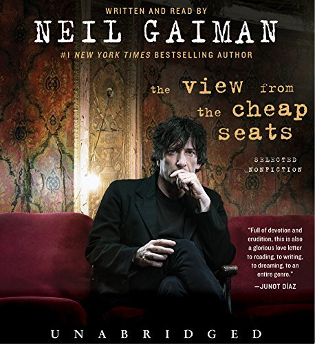 Neil Gaiman The View From The Cheap Seats Low Price CD Selected Nonfiction