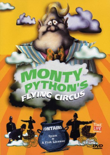 Monty Python's Flying Circus Spam & A Fish License