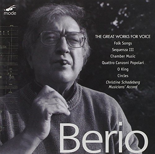 L. Berio Vol. 1 Great Works For Voice Various