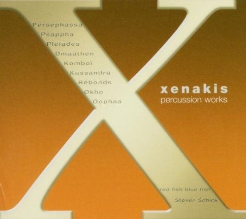 Iannis Xenakis Complete Percussion Works 3 CD
