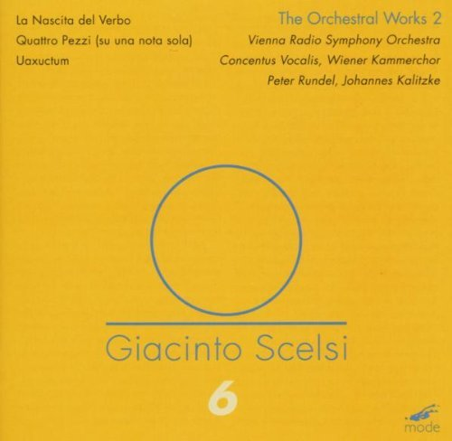 Giacinto Scelsi Orchestra Works Vol. 2