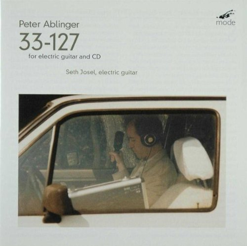 P. Ablinger 33 127 For Electric Guitar &