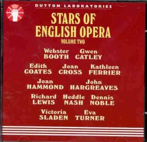 Stars Of English Opera Vol. 2