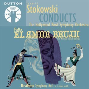 Leopold Stokowski Conducts Brahms Falla Stokowski Hollywood Bowl So