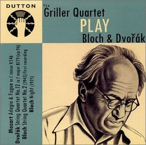 E. Bloch String Quartet No.2 Night. Dvo Griller Qt