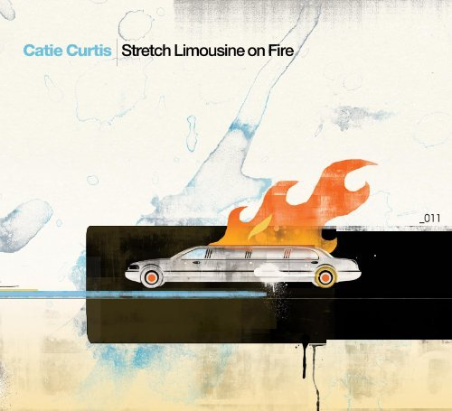 Catie Curtis Stretch Limousine On Fire