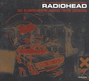 Radiohead No Surprises Running From Demo Import Jpn Japan Only