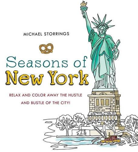 Michael Storrings Seasons Of New York Relax And Color Away The Hustle And Bustle Of The
