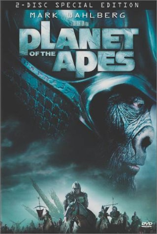 Planet Of The Apes (2001) Wahlberg Roth Carter Warren Du Clr Cc 5.1 Dts Aws Spa Dub Pg13 2 DVD Spec.
