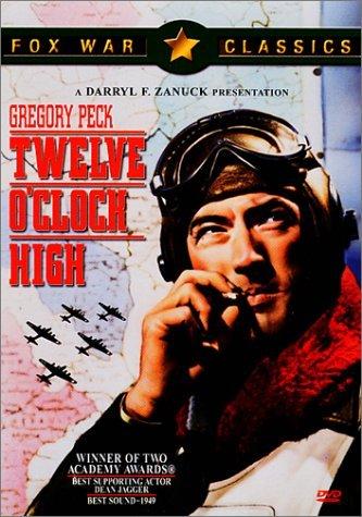 Twelve O'clock High Peck Marlowe Merrill Clr Cc St Fra Dub Spa Sub Nr