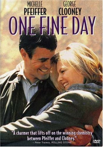 One Fine Day Clooney Pfeiffer Ws Pg