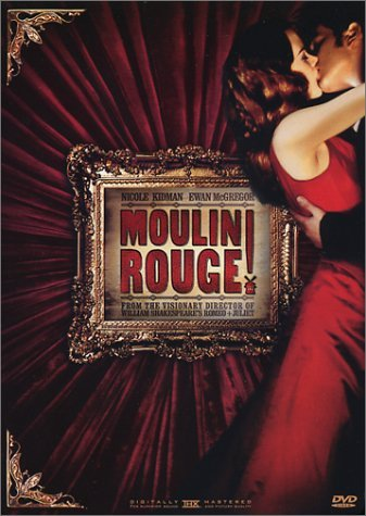 Moulin Rouge Kidman Mcgregor DVD Pg13 Ws