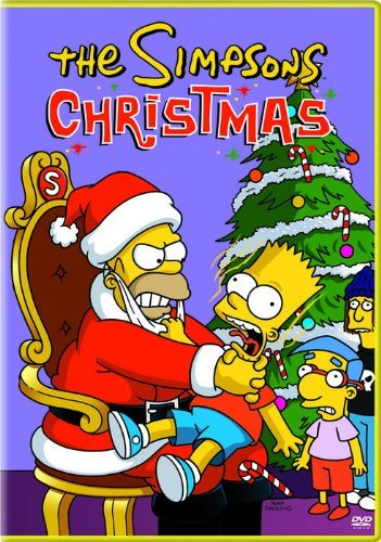 Simpsons Christmas DVD