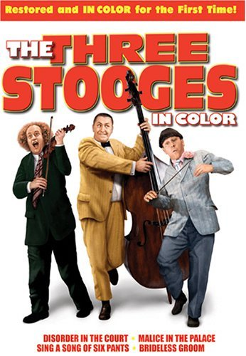 Three Stooges In Color Three Stooges Clr Nr