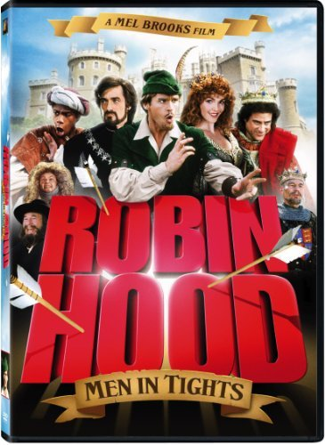 Robin Hood Men In Tights Elwes Lewis Rees Chapelle DVD Pg13 Ws