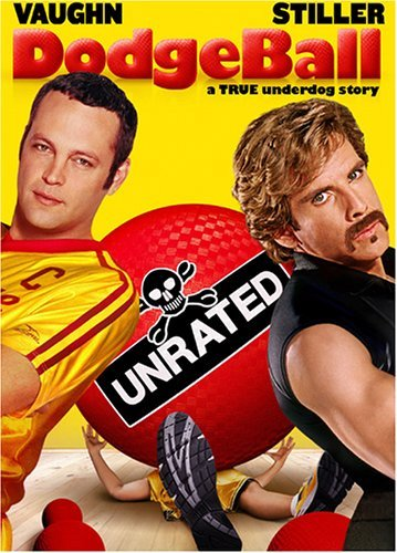 Dodgeball Vaughn Taylor Stiller Long DVD Ur