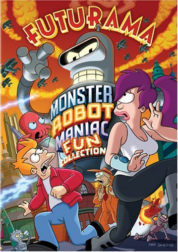Futurama Monster Robot Maniac Collection DVD