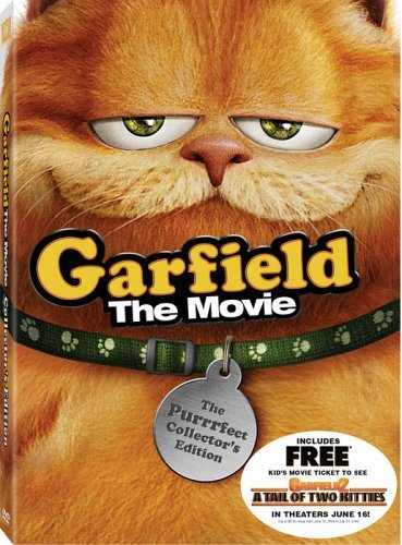 Garfield The Movie Meyer Hewitt Clr Ws Fs Pg 2 DVD Purrfec