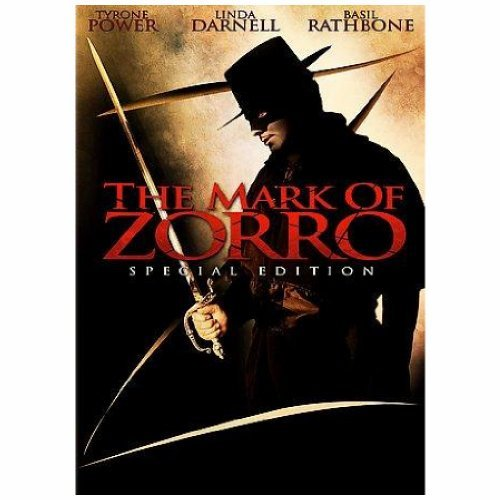 The Mark Of Zorro Power Darnell Rathbone Clr Bw Nr Special Ed.