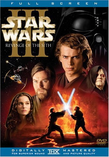 Star Wars Episode 3 Revenge Of The Sith Mcgregor Portman Christensen Pg13