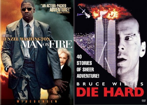 Man On Fire Die Hard Fox 2pak Clr Back To Back Nr 2 DVD