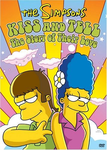 Simpsons Kiss & Tell DVD Kiss & Tell