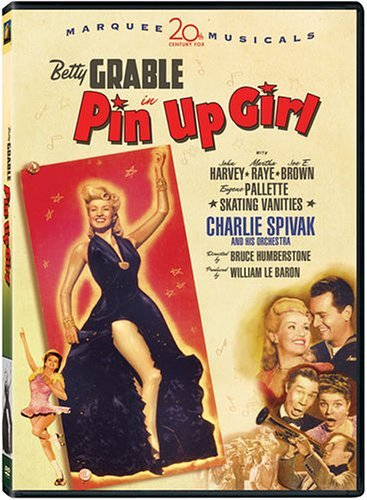 Grable Betty Pin Up Girl Clr Nr