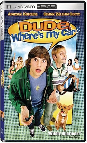 Dude Wheres My Car Kutcher Scott Swanson Clr Umd Pg13