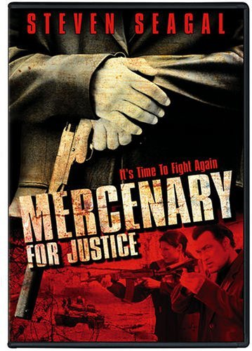 Mercenary For Justice Seagal Goss Smith Clr Fs Ws R