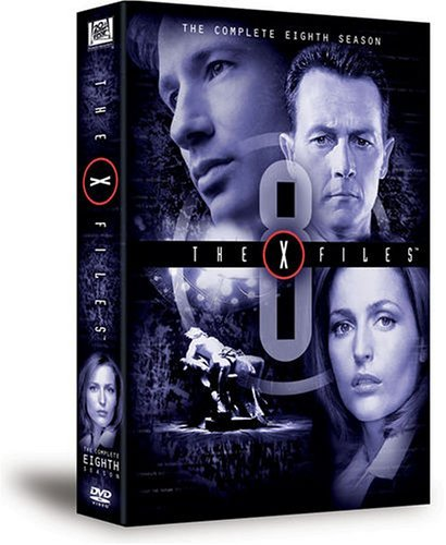 X Files Season 8 DVD