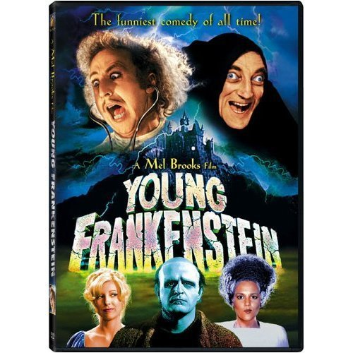 Young Frankenstein Wilder Garr DVD Pg