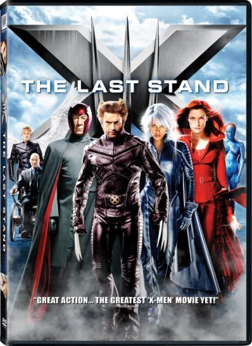 X Men 3 The Last Stand Stewart Jackman DVD Pg13