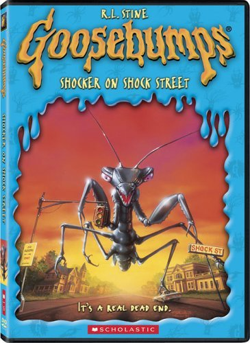 Goosebumps Shocker On Shock Street DVD
