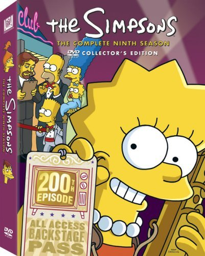 Simpsons Season 9 DVD Season 9