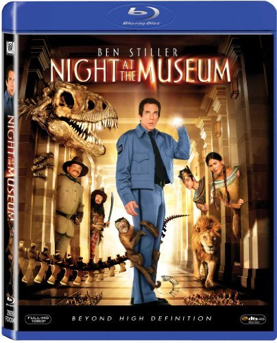 Night At The Museum Ben Stiller Blu Ray Pg Ws