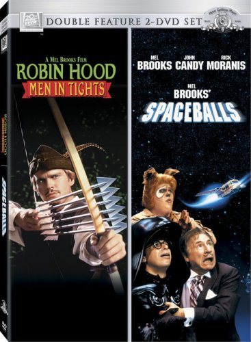 Robin Hood Men In Tights Spaceballs Double Feature Clr Ws Nr