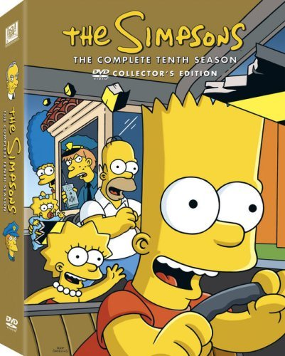 Simpsons Season 10 DVD Season 10