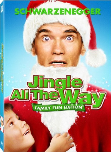 Jingle All The Way Schwarzenegger Sinbad Hartman DVD Pg Ws