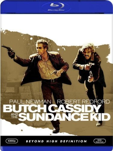 Butch Cassidy & The Sundance Kid Newman Redford Blu Ray Pg