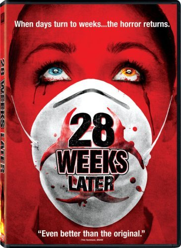 28 Weeks Later Renner Byrne DVD R